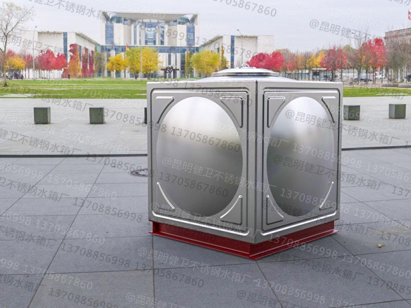 1吨方形组合式不锈钢水箱